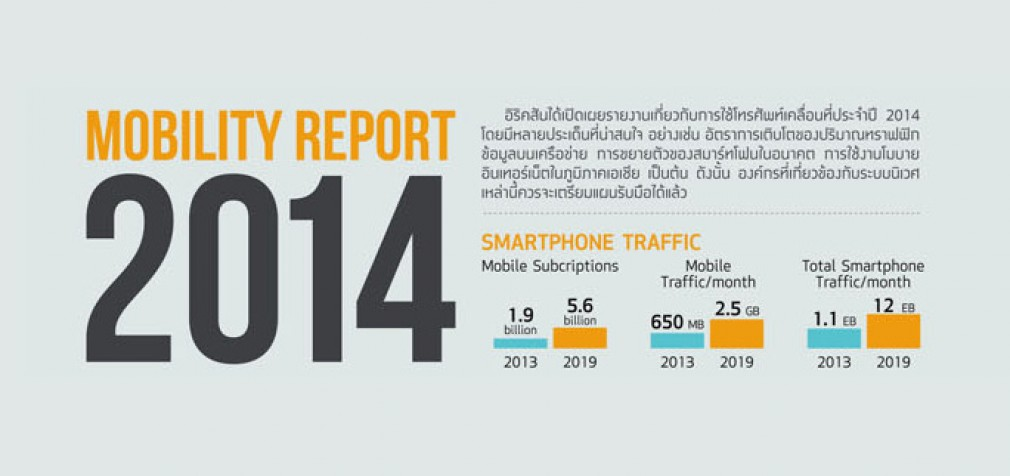 Mobility Report 2014