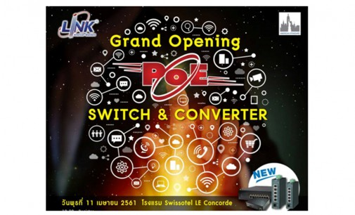 """""""Grand Opening PoE SWITCH & CONVERTER"""""""