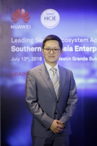 William Wang, Head of Enterprise Business Group, Huawei Southeast Asia