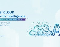 HUAWEI CLOUD AI Open Day