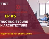 Fortinet Security Webinar Series EP #5 Constructing Secure SD-WAN Architecture